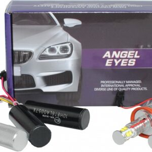 12V BMW E60 ANGEL EYES LED PIRNID  40W 2TK (CREE LED) M-TECH