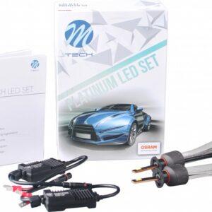 12V/24V H1 LED PIRNID 20/30W 5700K 5200LM 2TK(OSRAM LED) M-TEC