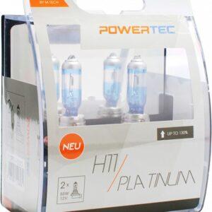 12V H11 PIRN 55W  PLATINUM +130% 2TK M-TECH