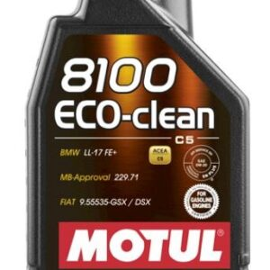 MOTUL 8100 ECO-CLEAN 0W20 1L C5 BMW LL-17,  MB 229.71