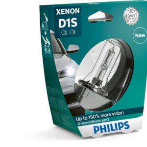 Xenon Pirn D1S Philips Extreme Vision 150% 4800K