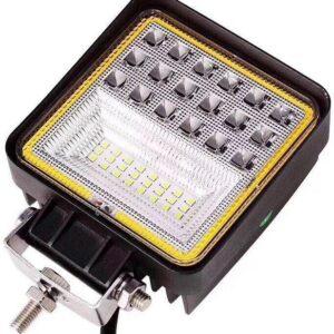LED töötuli/lähituli 9-30V 126W 125x106x45 IP68