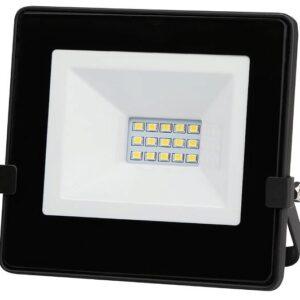 230V PROZEKTOR LED 10W 850LM 115X106MM NEUTRAL WHITE, BLACK IP65 A++
