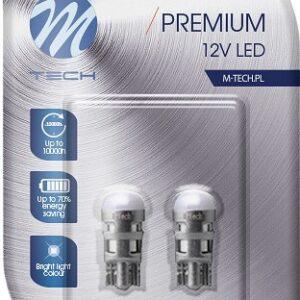 12V LED PIRNID 1W  W5W/t10 PREMIUM (OSRAM LED)