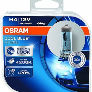 PIRN H4 60/55W 12V COOL BLUE INTENSE 2TK