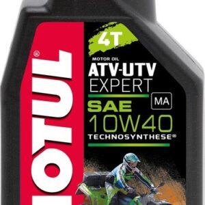 MOTUL ATV-UTV EXPERT 10W40 4T 1L POOLSÜNT.