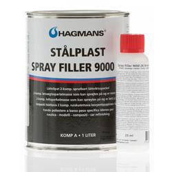 Pritspahtel + kõvendi Hagmans Spray Filler 9000 2K