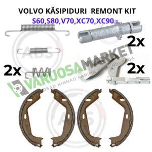 Volvo käsipiduri remondi komplekt s60,s80,v70,XC90 jt