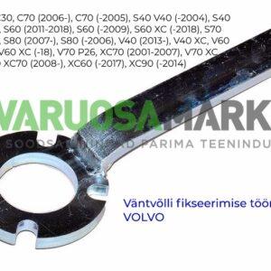 Väntvõlli kinnihoidmis tööriist Volvo 9995433