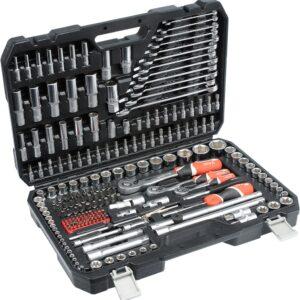1 Tööriistakomplekt 216-OSA 1/4 1/2 3/8 YATO