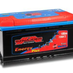 AKU 100ah vabaaja / paadi 350x175x190 ENERGY