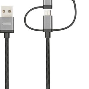 Laadimiskaabel 3in1 APPLE, MICRO USB, TYPE C