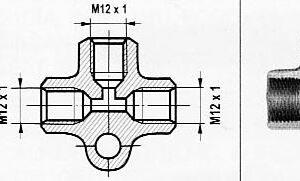 Piduritoru KOLMIK M12X1