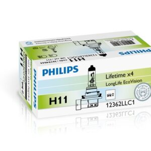 PIRN H11 55W Longlife 4x PHILIPS