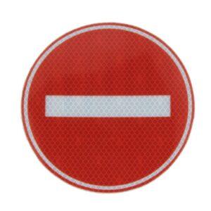 Hoiatussilt – STOP märk peegeldav 16cm