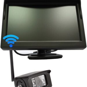 Ekraan + kaamera juhtmevaba 12-24V