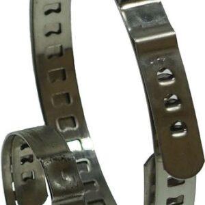 Poolteljekummi klambrid 2tk komplekt 15 – 45 MM – 50 – 125 MM
