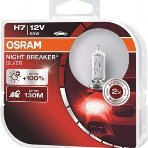Pirn H7 55W 12V NB Silver 100% OSRAM