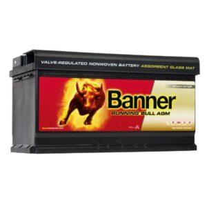 1 AKU AGM BANNER 95AH 850A 12V 354X175X190 -/+