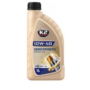 Mootoriõli 10W40 K2 1L  poolsünteetiline