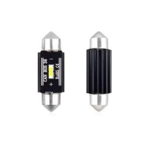 LED PIRN 36mm 12-24V 3W 5600K Canbus 2TK