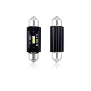 LED PIRN 39mm 12-24V 3,1W 5600K 2TK