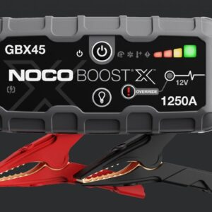 1 NOCO GBX45 Genius Booster 12V 1250A käivitusabi/akupank