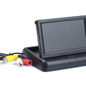 TFT display 4,3 klapitav ( parkimiskaamera / DVD )